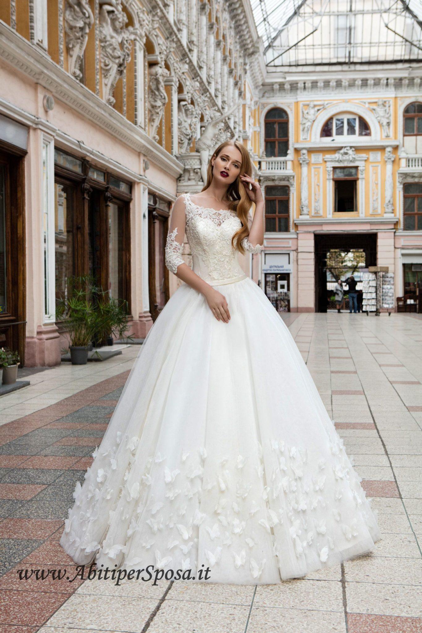 Abiti Da Sposa Internet.Abito Da Sposa Ampio Caroline Abitipersposa It Abiti Da Sposa