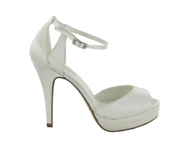 separation shoes fdf0c c0d79 Scarpe sandalo sposa Menbur modello Angeles